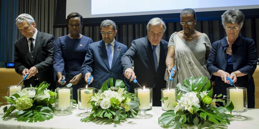 Adventist Hero in Rwanda's Genocide Shares Faith at UN