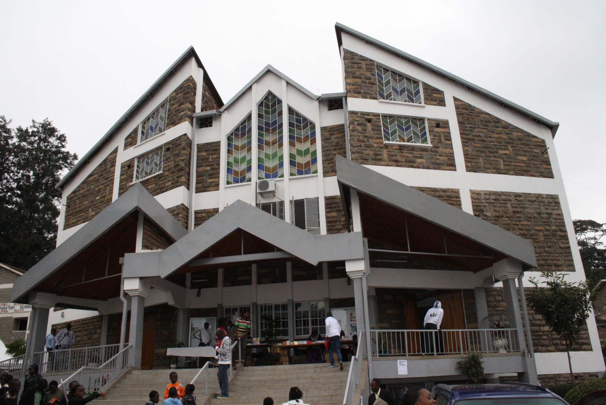Members at Nairobi Central Seventh-day Adventist Church Seen on