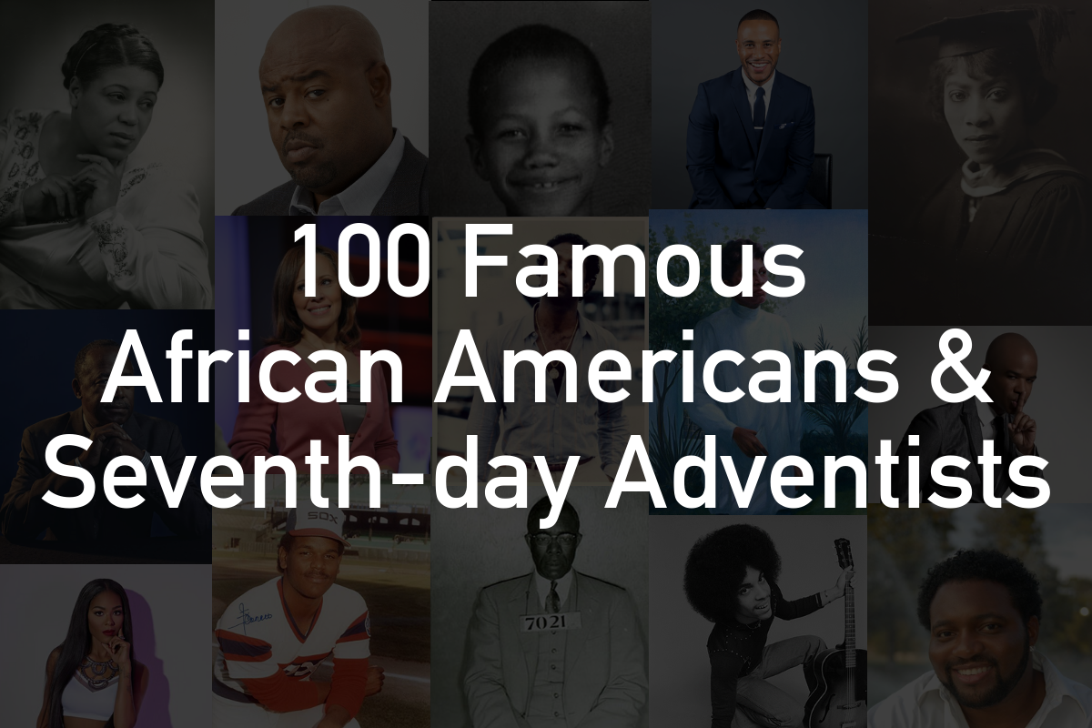 100 Famous African Americans and Seventh-day Adventists