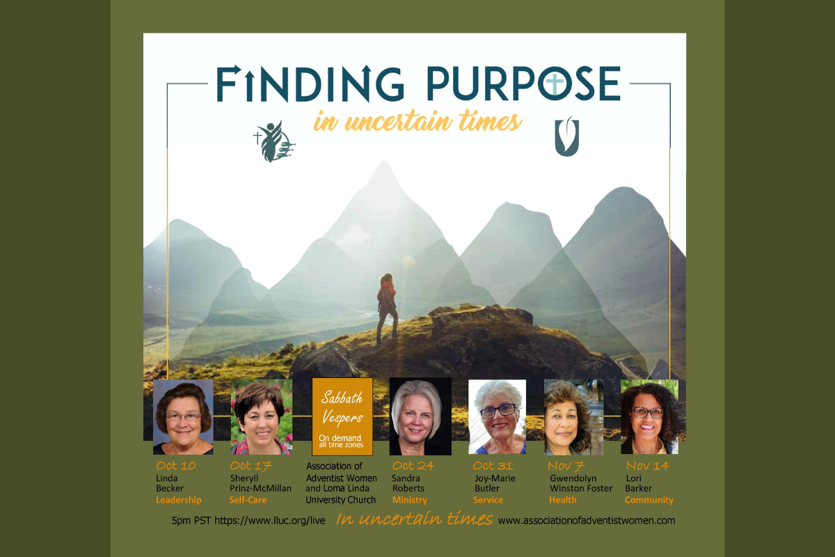 Finding Purpose in Uncertain Times