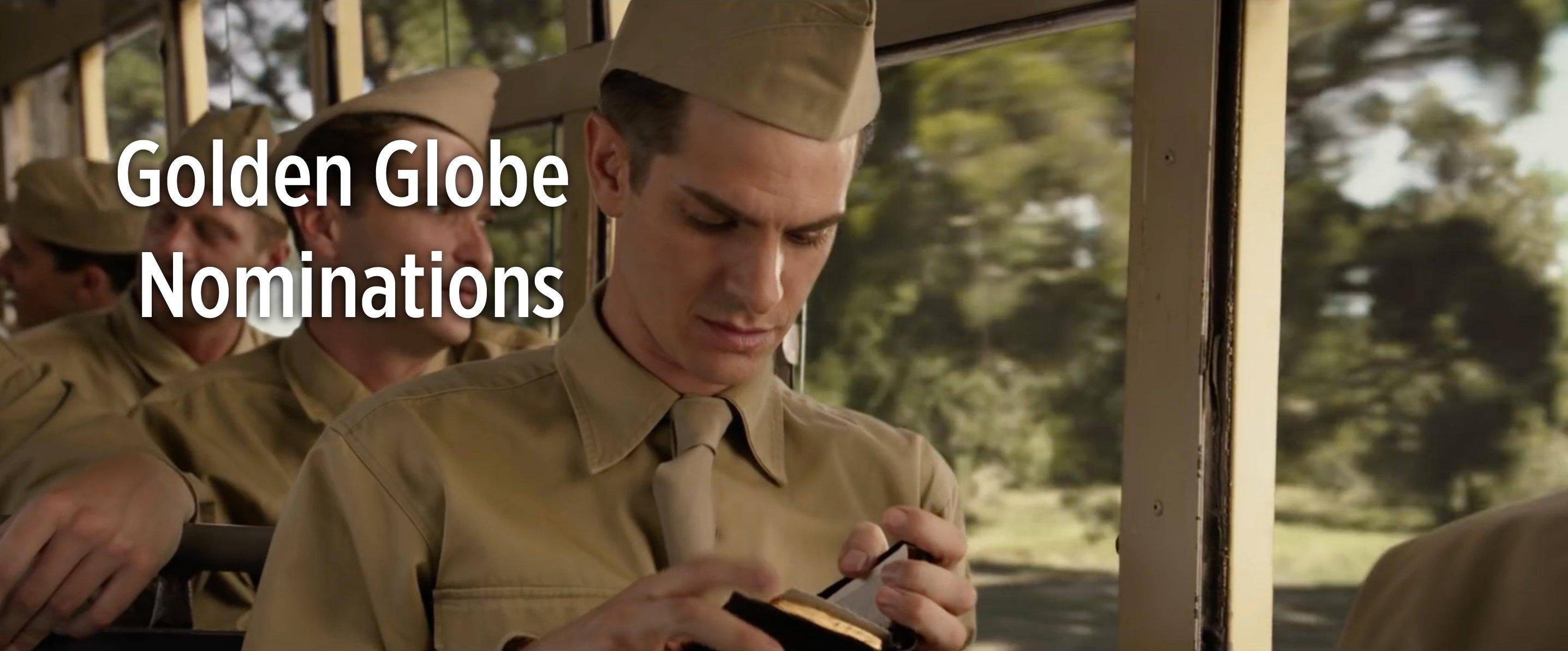 Hacksaw Ridge Nominated for Three Golden Globe Awards