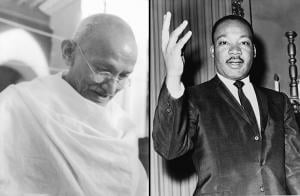 martin luther king and gandhi essay Letter from birmingham in april of 1963, martin luther king, jr, was jailed in birmingham, alabama for his efforts in the civil rights movement one day.