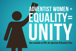 """Adventist Women + Equality = Unity"""