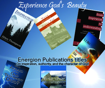 Energion Publications titles: Experience God's beauty