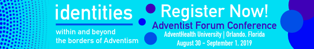 Adventist Forum Conference Banner: Click to Register
