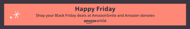 Amazon Smile Banner Image
