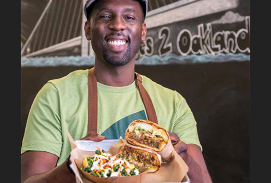 Chef GW Chew presents one of The Veg Hub's most popular sandwiches, a vegan Philly cheez steak sandwich