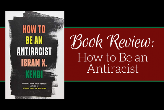 "Book cover for ""How to Be an Antiracist"" by Ibram X. Kendi."