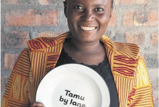 Jane Nshuti, Adventist Vegan Chef